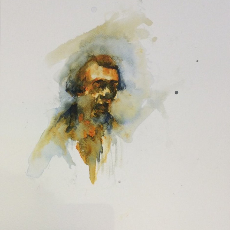 Florian Eymann, Watercolour No 150 117 3