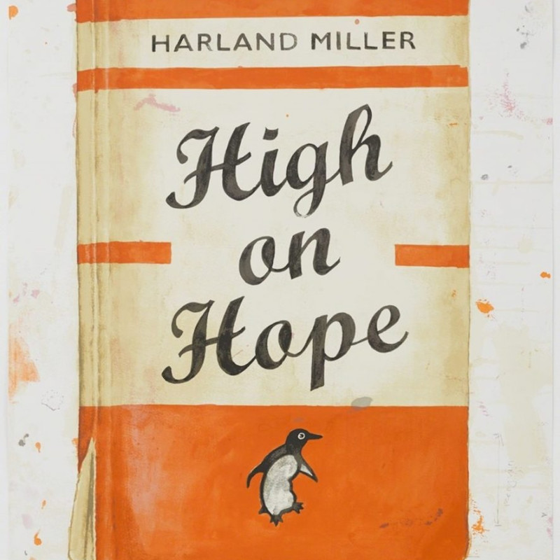 Harland Miller, High on Hope, 2015