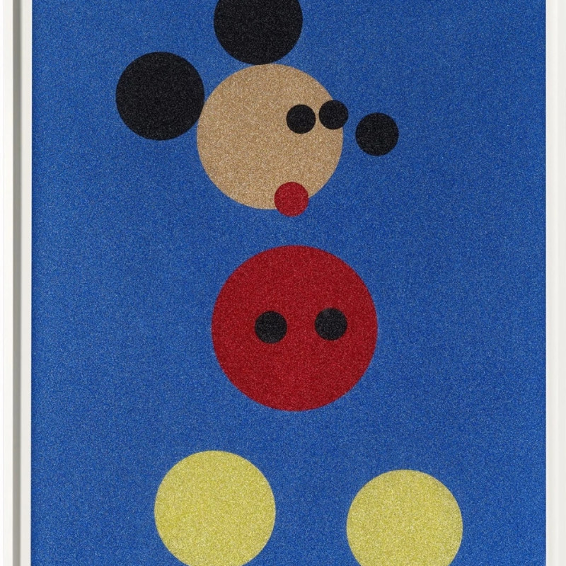 Damien Hirst - Mickey (Small)