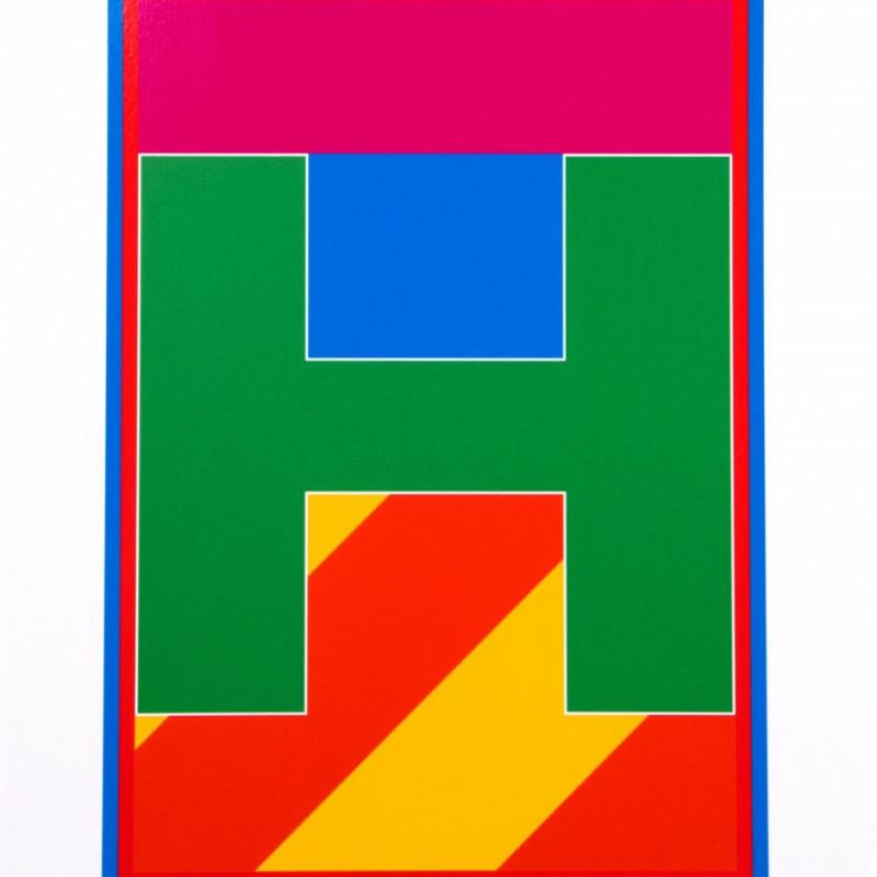 Peter Blake, Dazzle Alphabet - H