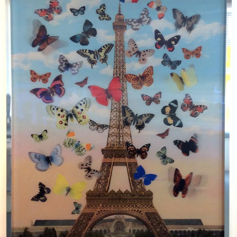 Peter Blake, Eiffel Tower 2015
