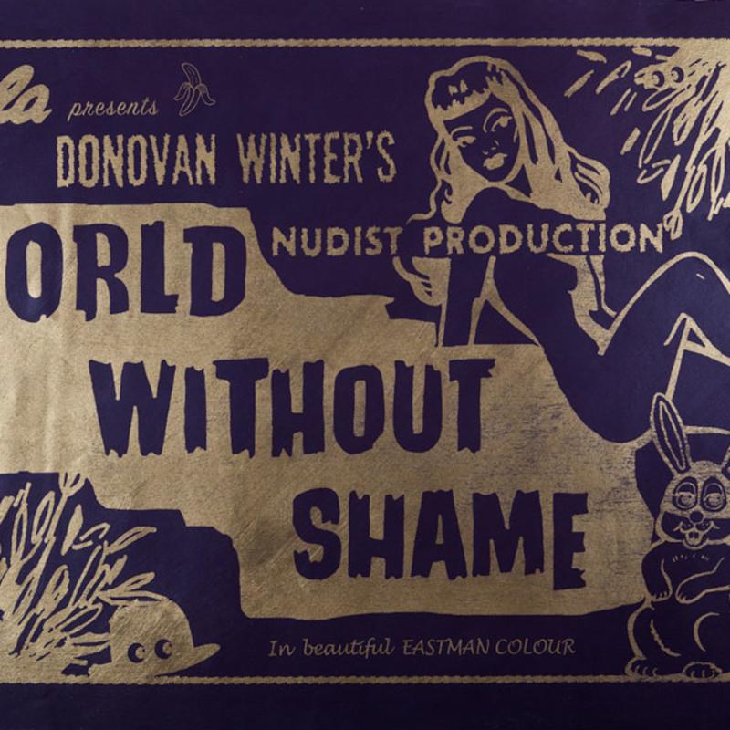 World Without Shame (Dark Purple)