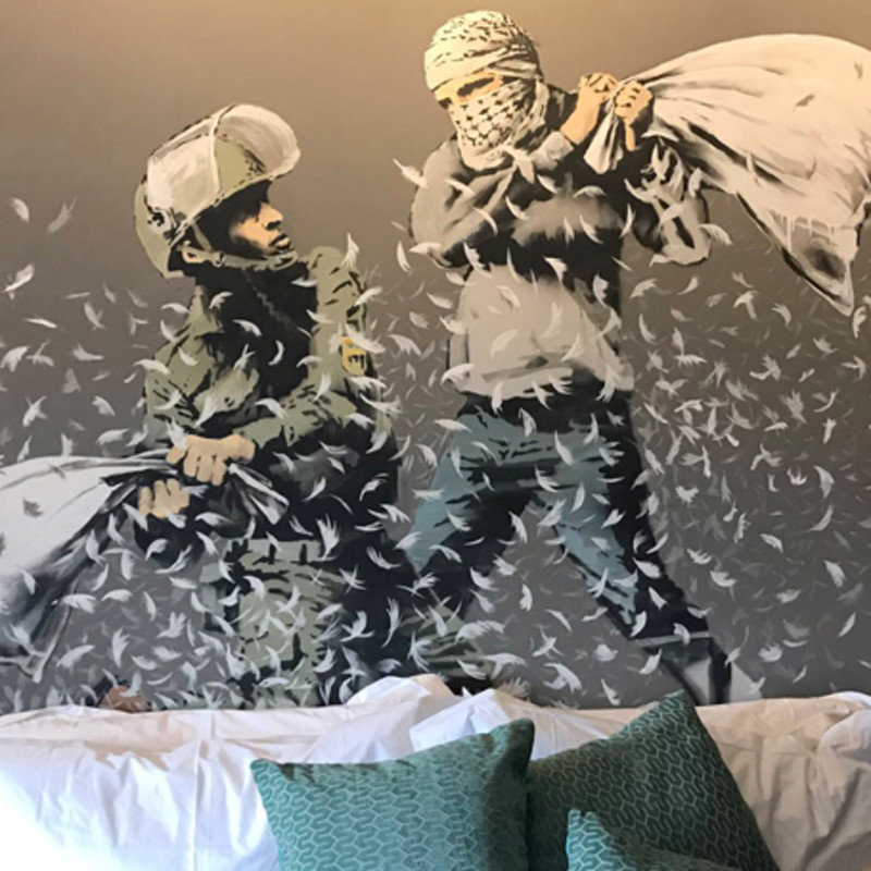 Banksy To Open West-Bank Hotel
