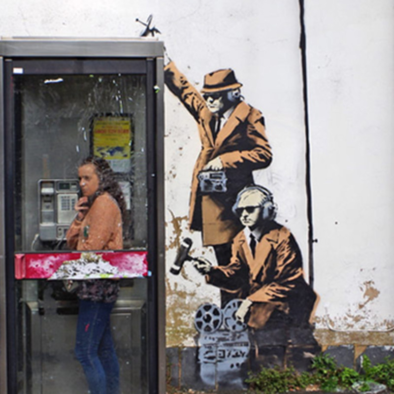 Scientists Attempt To Unmask Banksy Using Complex Mathematics And Criminology