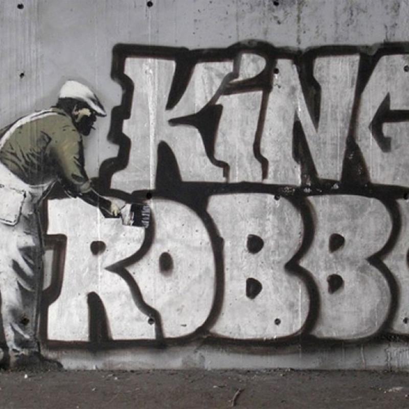 Banksy Graffiti Rival King Robbo Dies