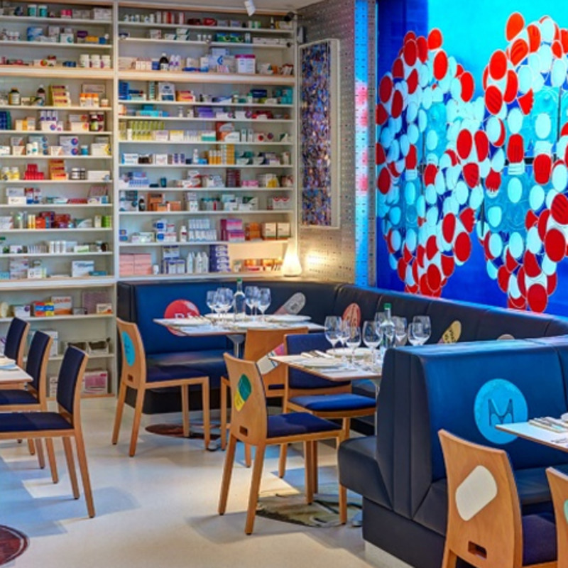 Damien Hirst Opens Pharmacy 2 Restaurant at his Newport Street Gallery