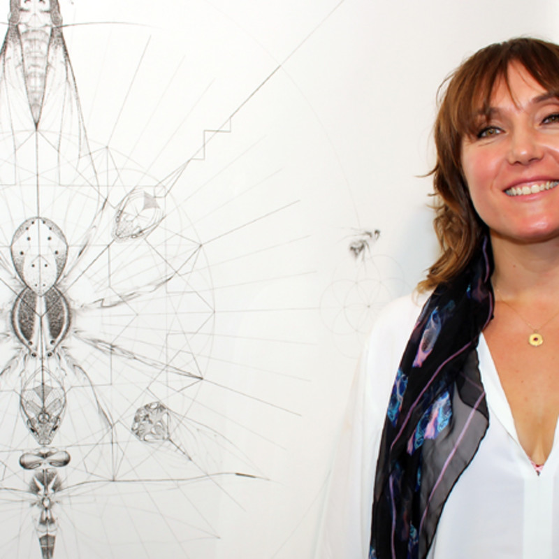Jess Albarn In The Guardian And 'Creation' Private View Video
