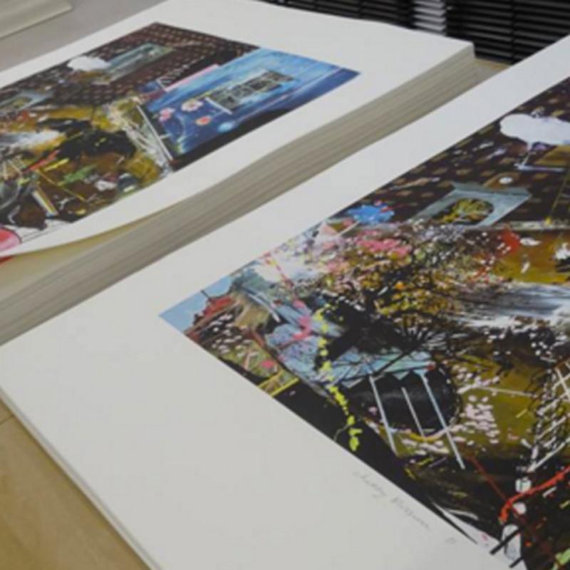 Dan Baldwin and Peter Blake Debut New Editions at the London Original Print Fair