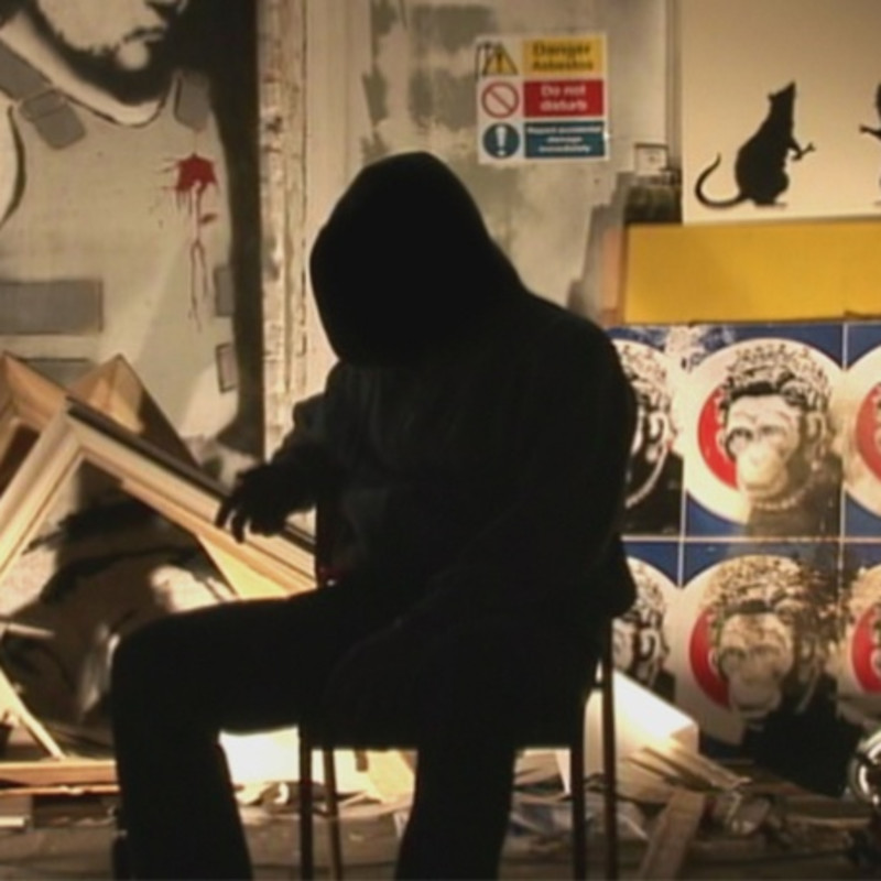 Did Goldie Accidently Reveal Banksy's True Identity?