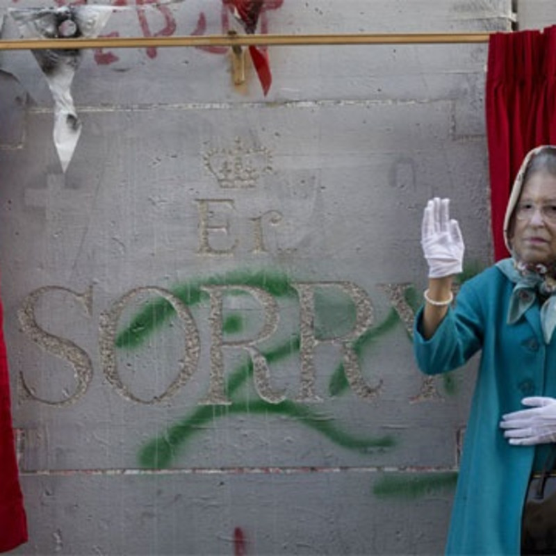 Banksy Throws Apology Party For Palestinians At Walled Off Hotel