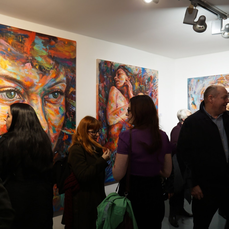 David Walker Private View