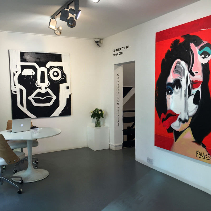 Portraits of Someone: Private View