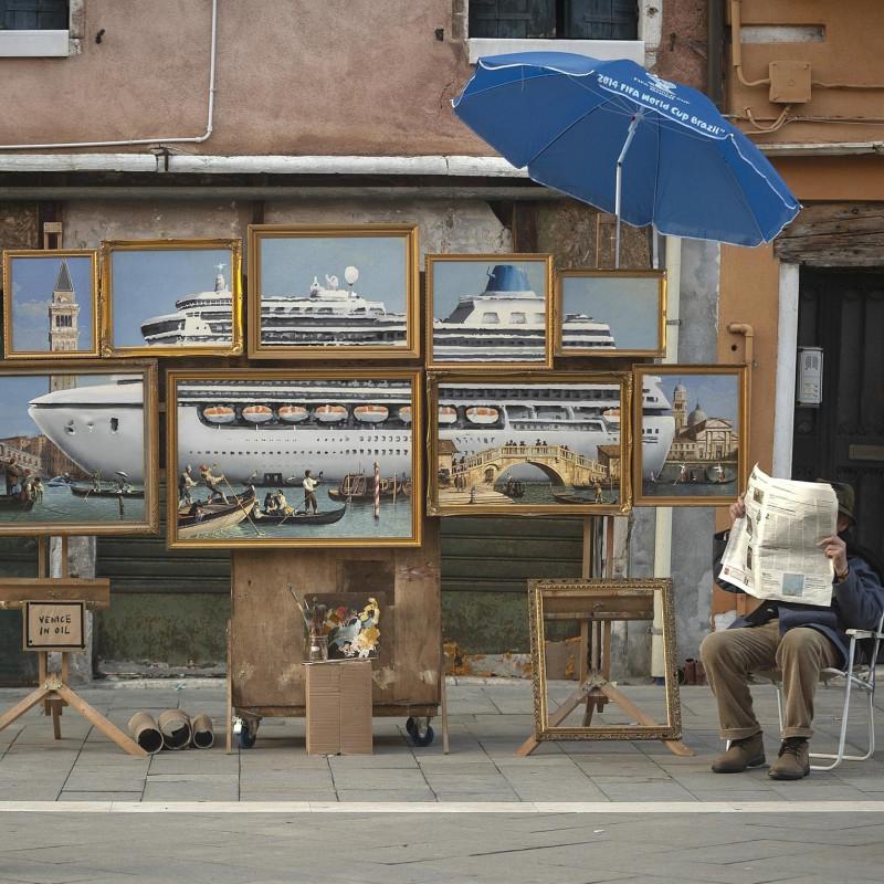 Banksy at the Venice Biennial