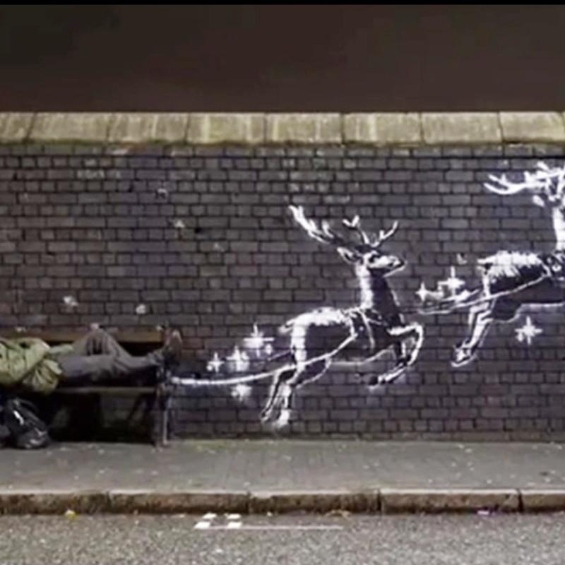 New Banksy piece in Birmingham