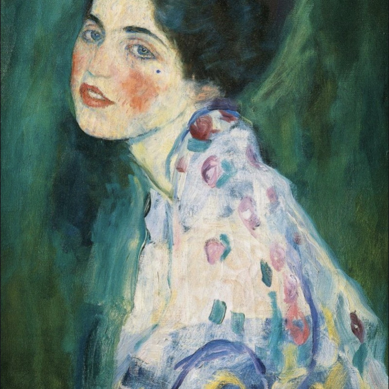 """""""Portrait of a Woman"""" by Klimt might have been found after being lost for 23 years."""