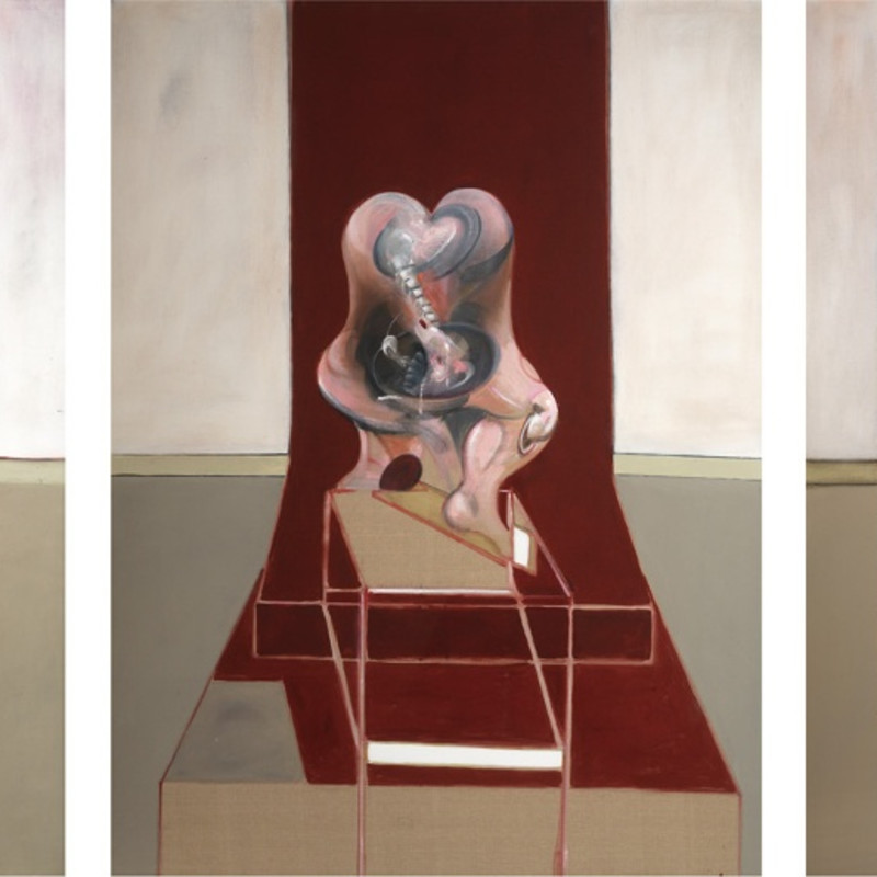 Francis Bacon, Triptych Inspired by the Oresteia of Aeschylus, 1981. Oil on canvas. CR no. 81-03. © The Estate of Francis Bacon / DACS London 2018. All rights reserved.