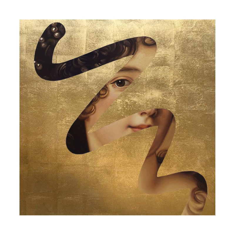 New Lino Lago 'Fake Abstract (Gold)' Print Edition