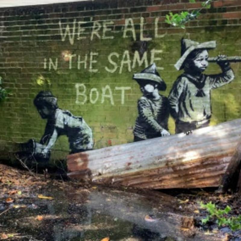 Banksy Sightings