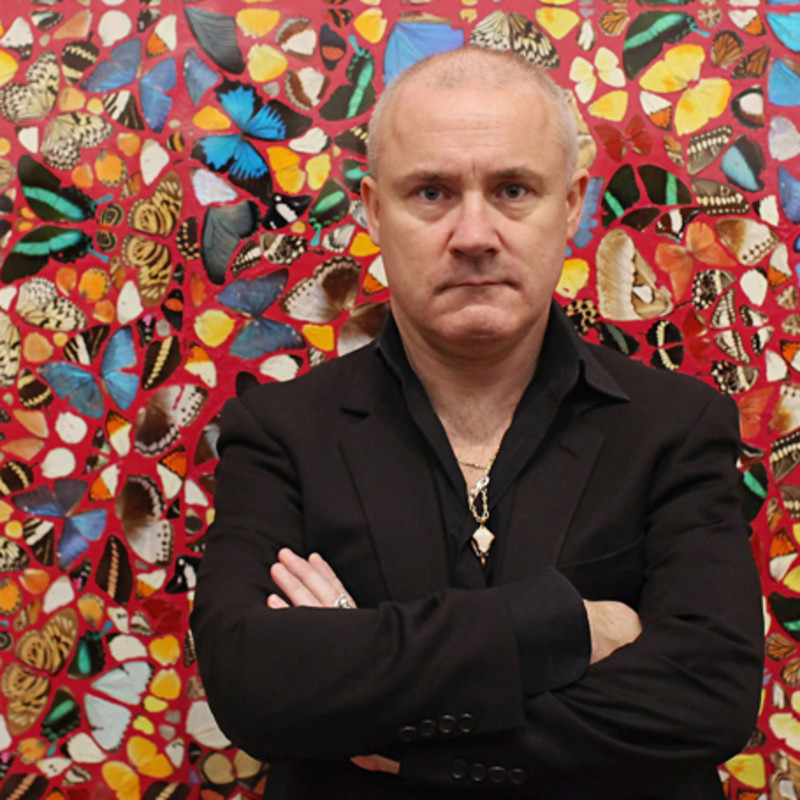 """Damien Hirst To Debut New Work That Has Been """"Ten Years In the Making"""""""