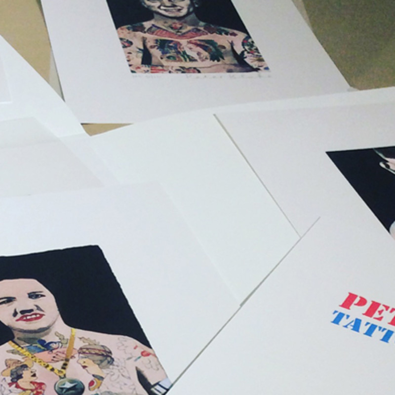Peter Blake Releases His Latest Tattooed People Set