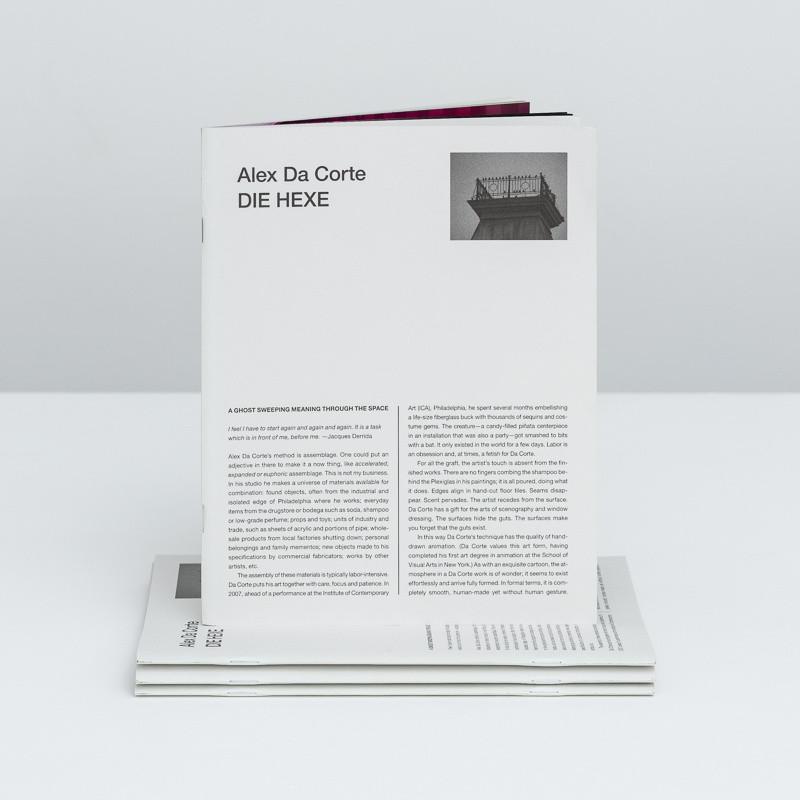 Alex da Corte: Die Hexe inside page