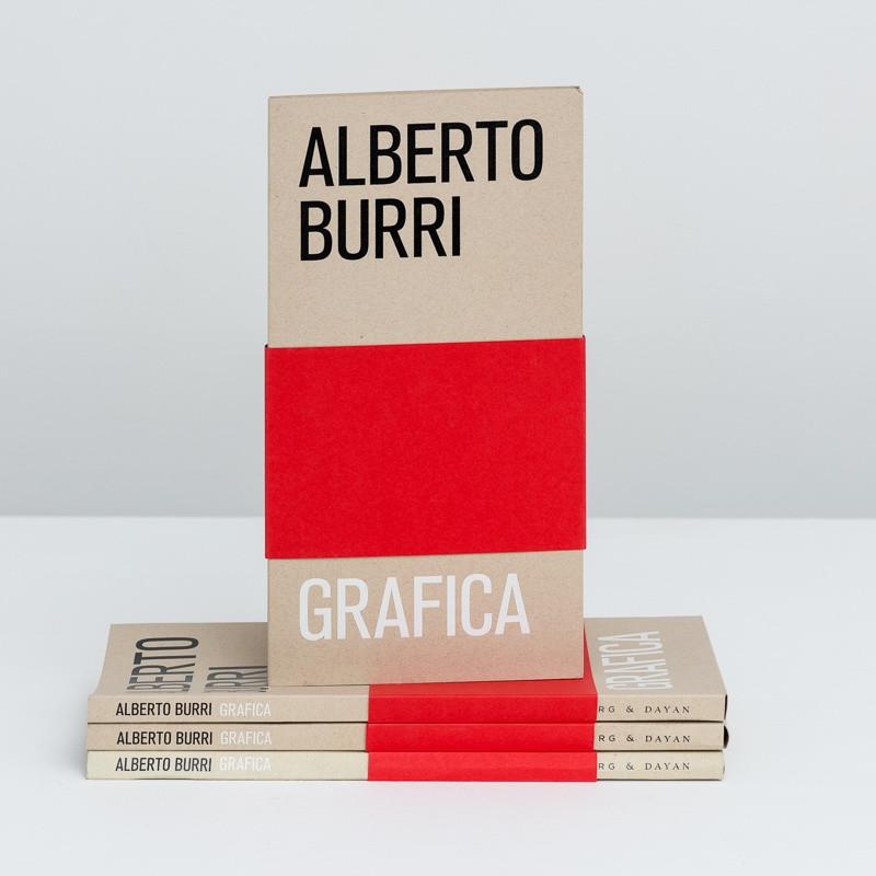 Alberto Burri: Grafica inside page