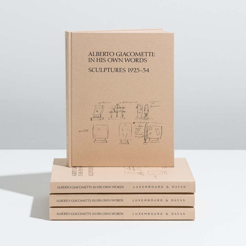 Alberto Giacometti, In His Own Words: Sculptures 1925 - 34 inside page