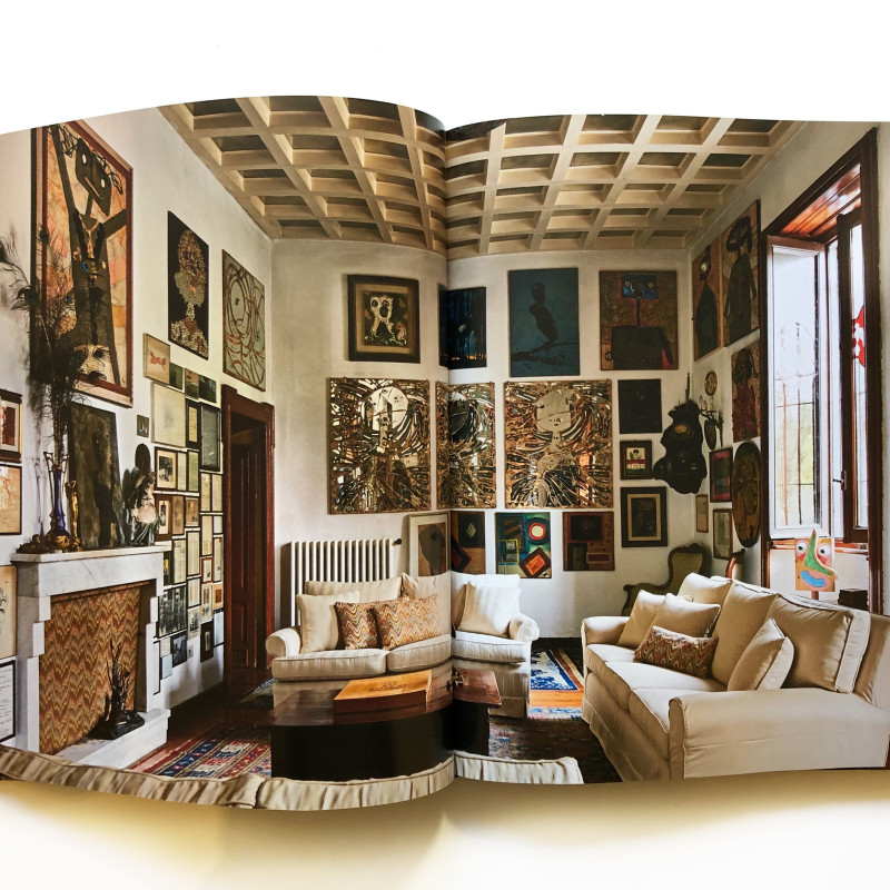 Enrico Baj: The Artist's Home inside page