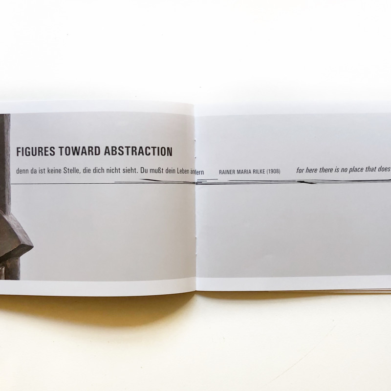 Figures Toward Abstraction: Sculptures 1910 - 1940 inside page