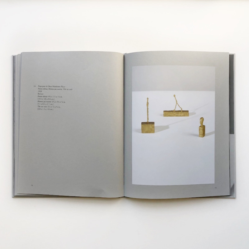 Alberto Giacometti, Intimate Immensity: Sculptures 1935-45 inside page