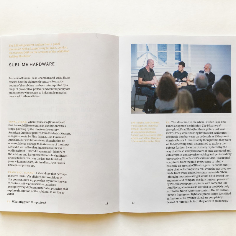 Conversations 3: Now. Just now. Then. inside page