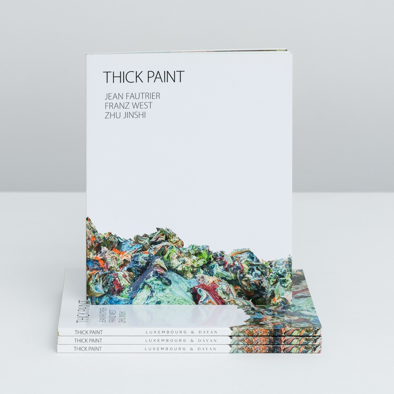 Thick Paint: Jean Fautrier, Franz West, Zhu Jinshi inside page