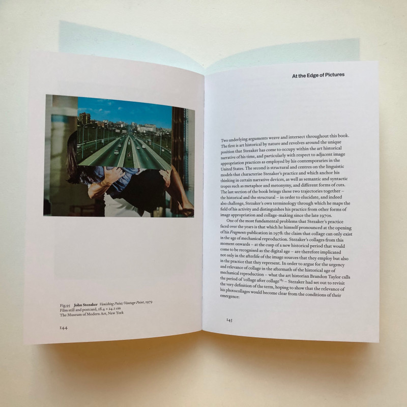 John Stezaker: At the Edge of Pictures inside page
