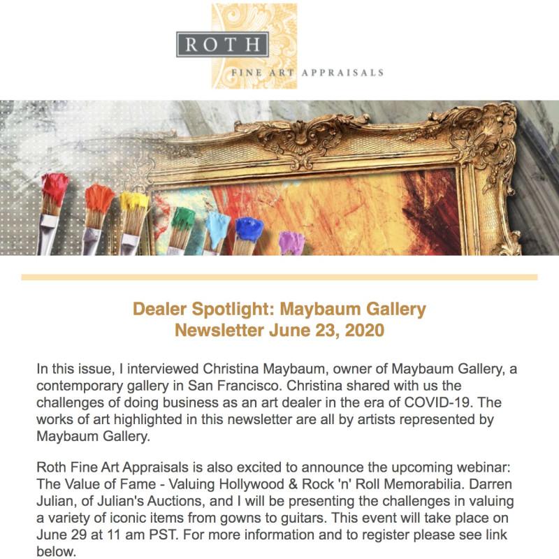 Dealer Spotlight: Maybaum Gallery