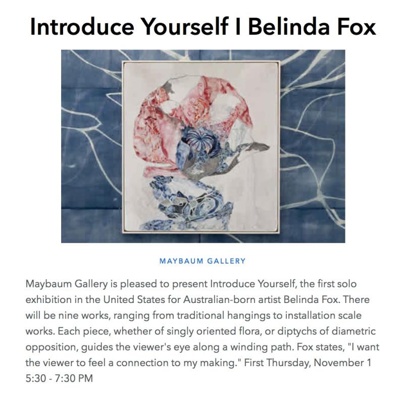 Introduce Yourself | Belinda Fox