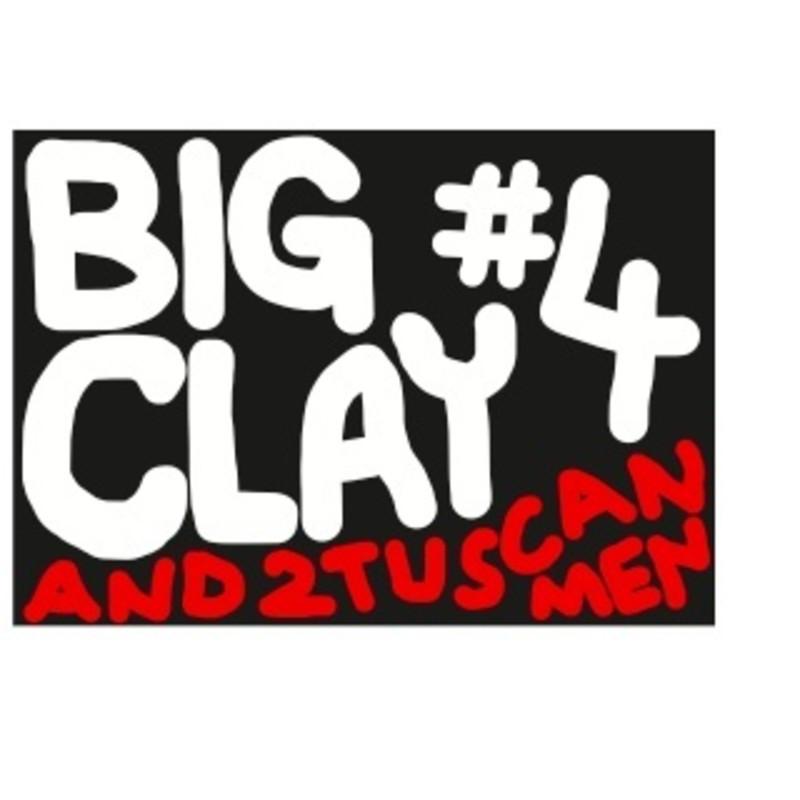 BIG CLAY #4 AND 2 TUSCAN MEN
