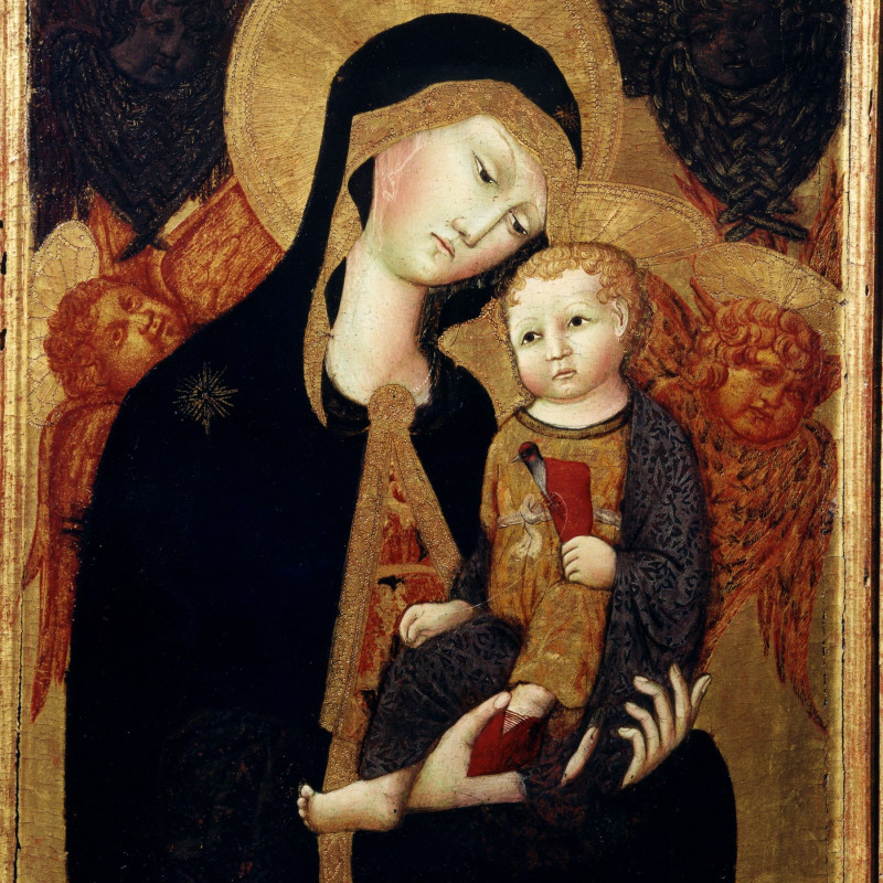 Ansano di Andrea di Bartolo, Madonna and Child