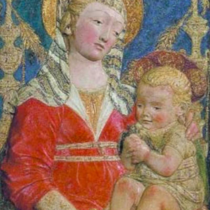 Dal rilievo alla pittura La Madonna delle Candelabre di Antonio Rossellino