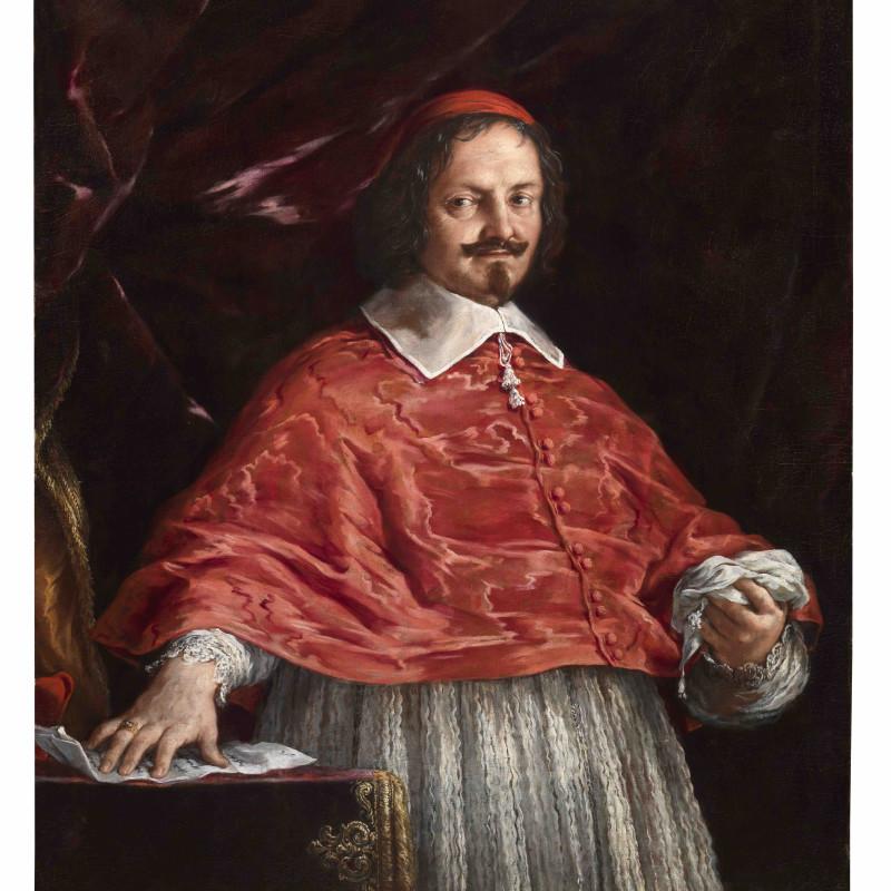 Pietro da Cortona: portrait of Cardinal Mazzarino