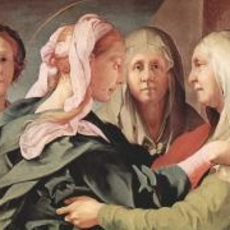 Visitation by Jacopo Carucci, called 'Il Pontormo'