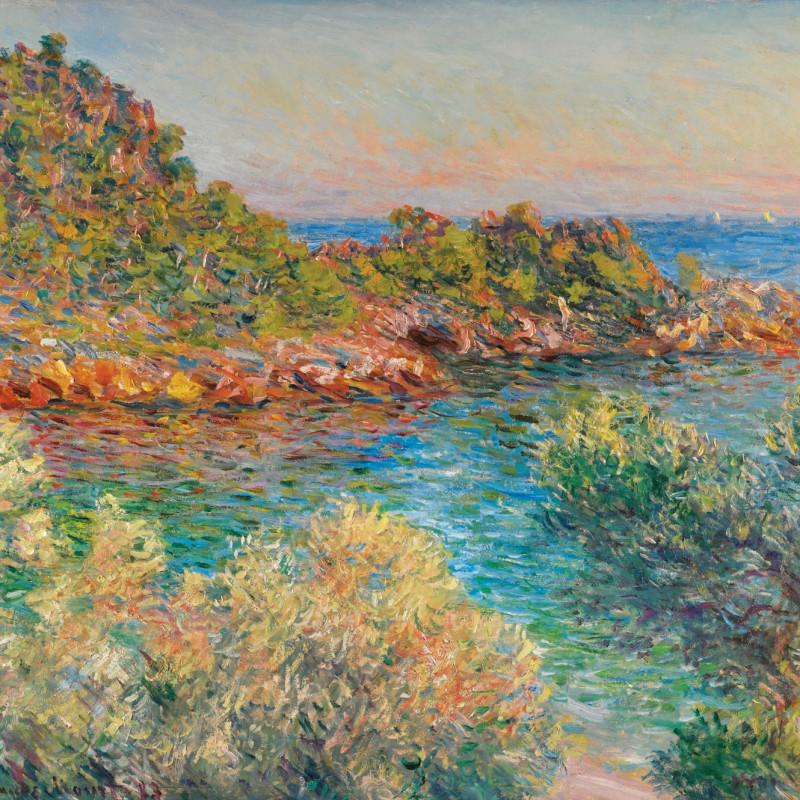 Claude MONET (1840 – 1926), Près Monte Carlo, 1883