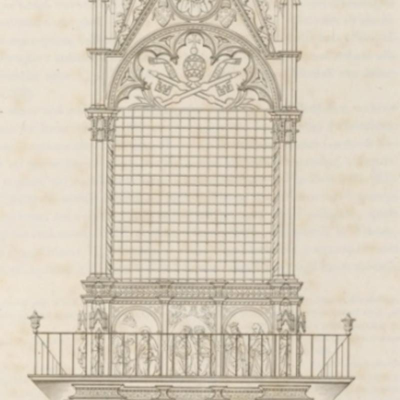 G. Bianchi, in La patriarcale basilica lateranense Illustrata per cura di Agostino Valentini Descritta da Filippo Gerardi, Roma 1832-1834, 2...