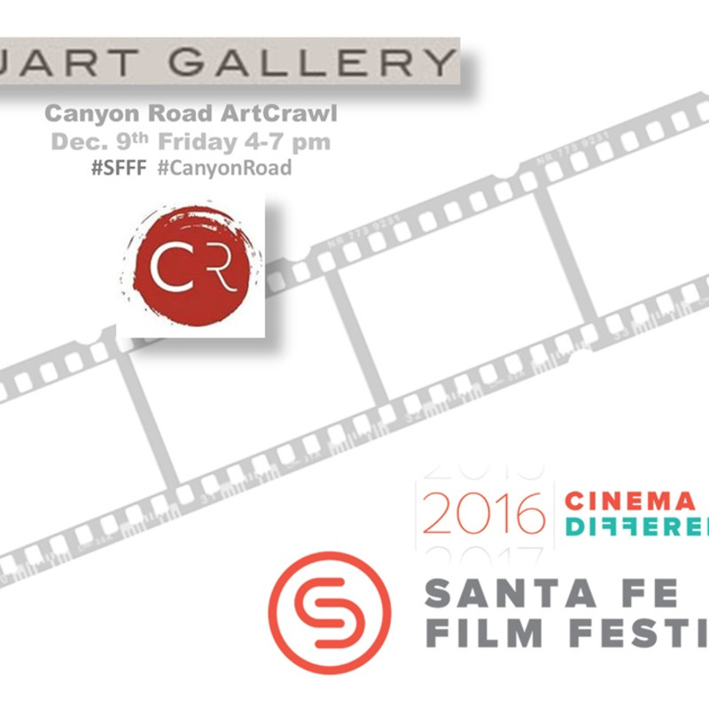 Santa Fe Film Festival's Canyon Road Art Crawl