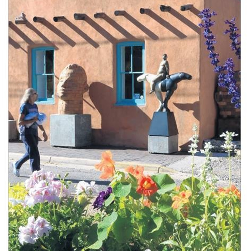 LOS ANGELES TIMES' VIEW ON ART IN SANTA FE