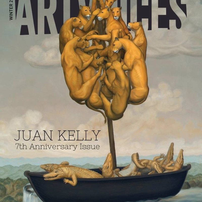 "JUAN KELLY's ""The Sovereign Boat"" ON THE COVER OF ARTVOICE MAGAZINE"