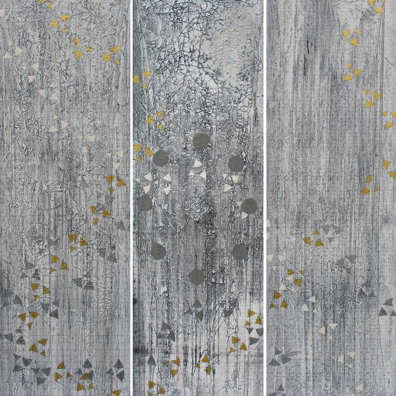 Antonio Puri, Stellar Plane, mixed media on canvas, 68 x 61 inches