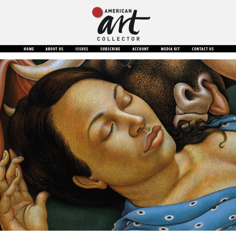 Michael Bergt's 'After Picasso' featured in American Art Collector's Spotlight on Figurative Art