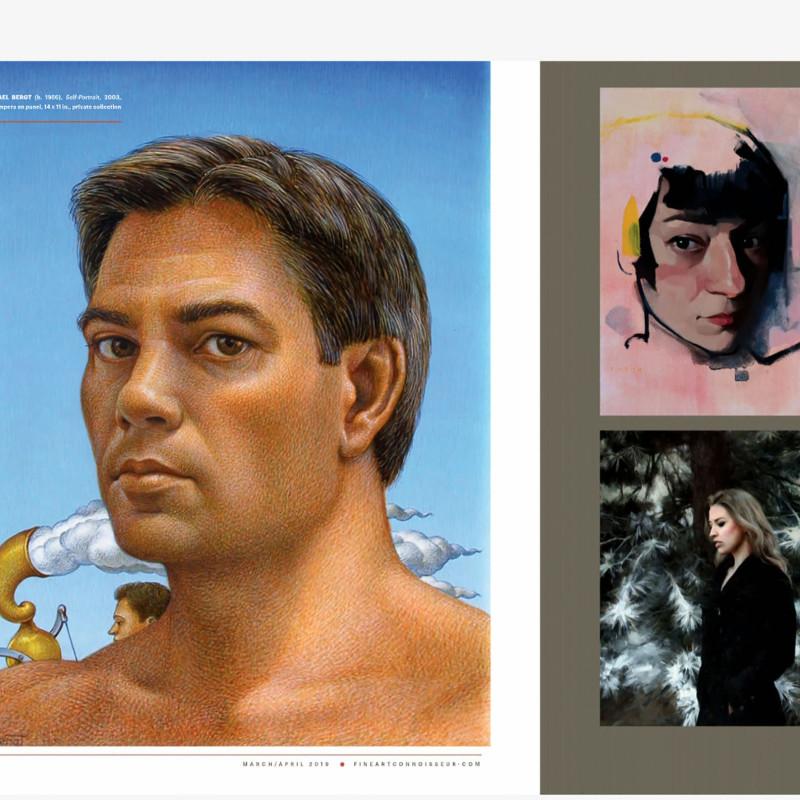 Michael Bergt Featured in Fine Art Connoisseur