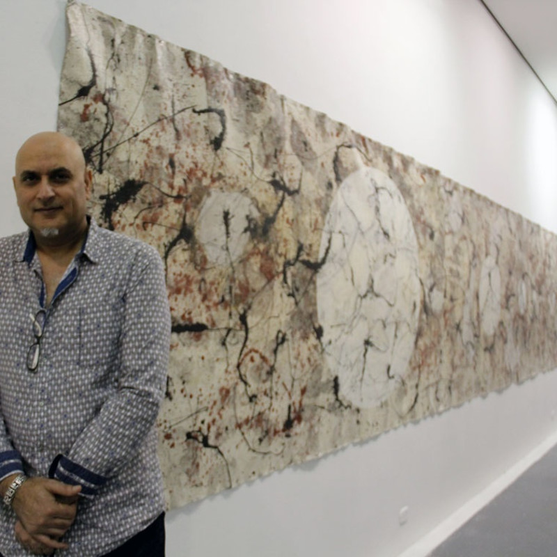 "Antonio Puri Solo Exhibition, ""Monumental"" at the Museo de Arte del Tolima"
