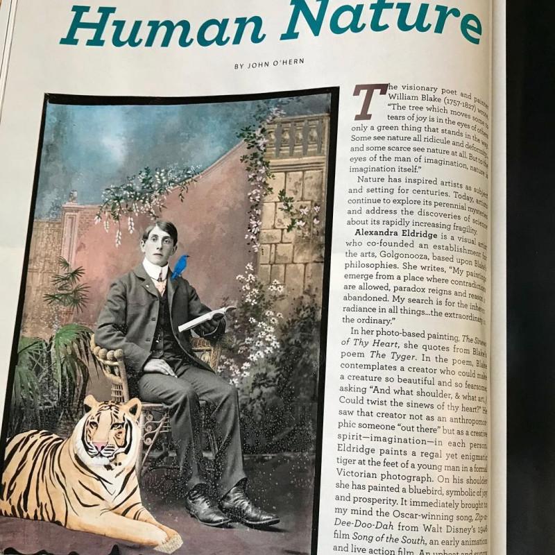 Alexandra Eldridge featured in December 2019 issue of American Art Collector Magazine